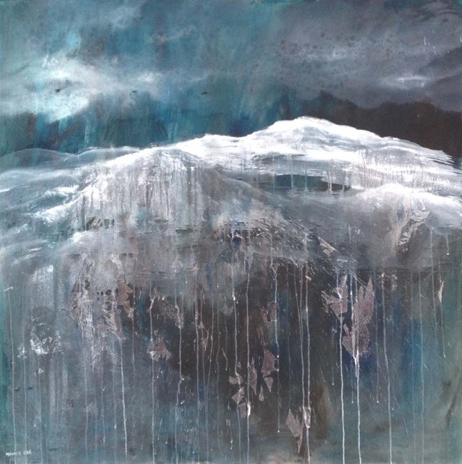 100 x 100 cm Acrylique sur toile